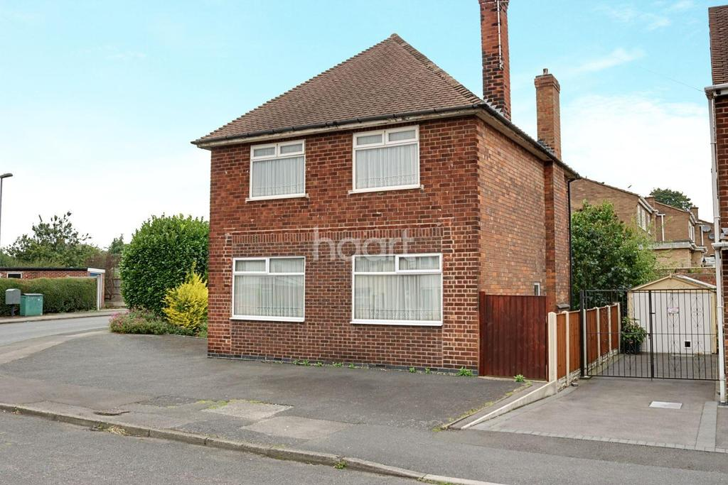 3 Bedrooms Detached House for sale in Brookfield Avenue, Hucknall