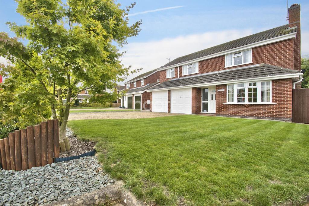 4 Bedrooms Detached House for sale in Little Johns Close, South Bretton