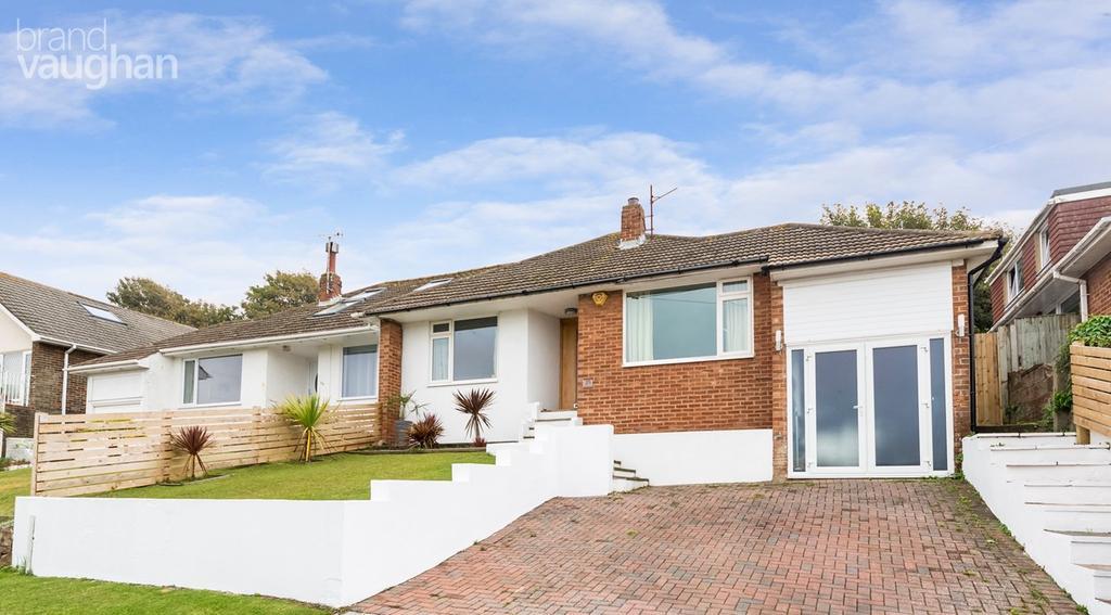 3 Bedrooms Semi Detached House for sale in Greenbank Avenue, Saltdean, Brighton, BN2