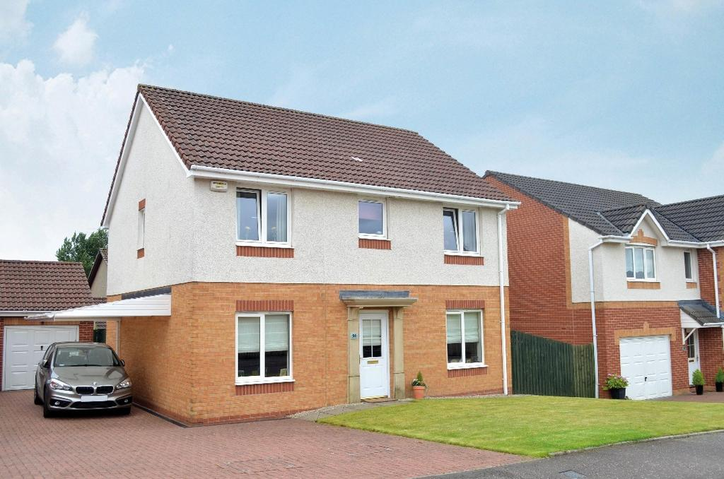 4 Bedrooms Detached House for sale in Blackhill Crescent, Summerston, Glasgow, G23 5NF
