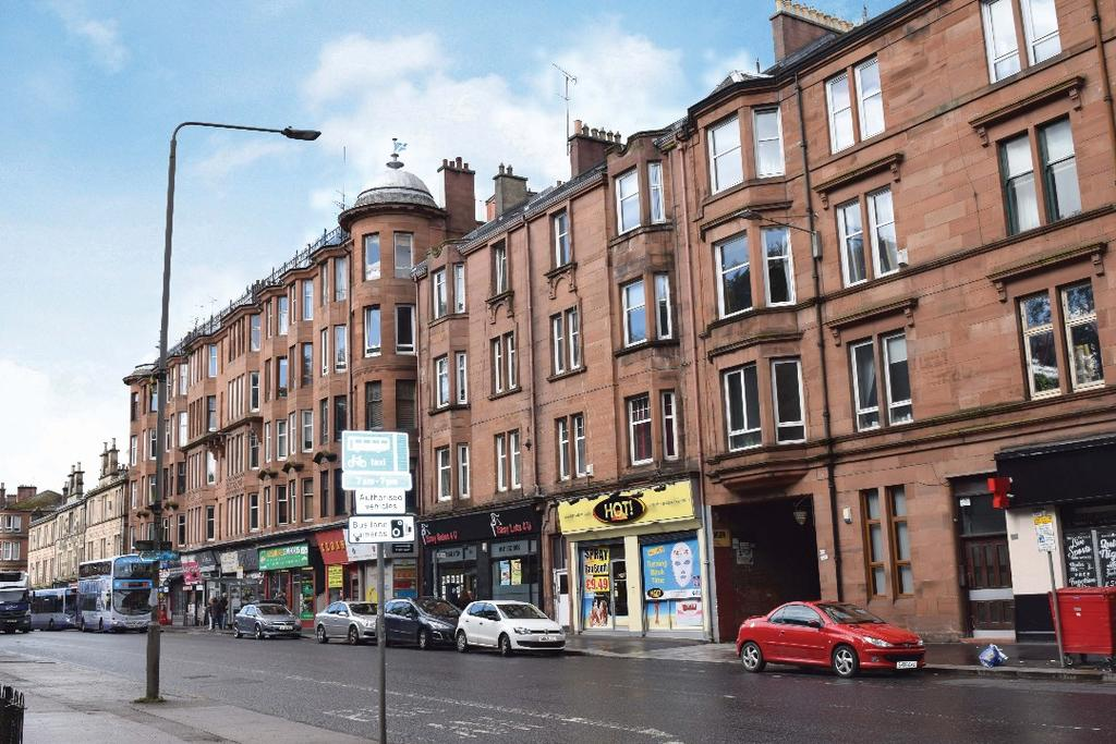 2 Bedrooms Flat for sale in Pollokshaws Road, Flat 3/1, Shawlands , Glasgow, G41 2HA