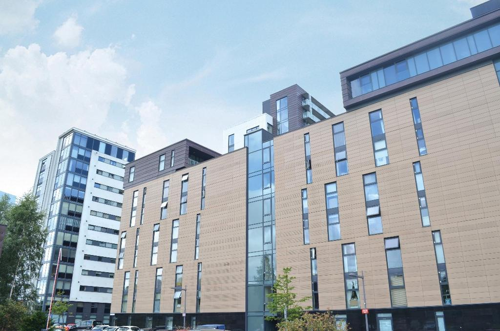 1 Bedroom Flat for sale in Glasgow Harbour Terrace, Flat 0/2, Glasgow Harbour, Glasgow, G11 6DJ