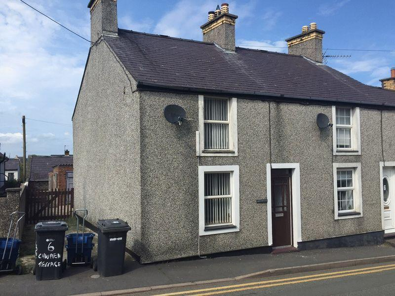 2 Bedrooms Terraced House for sale in Llanerchymedd