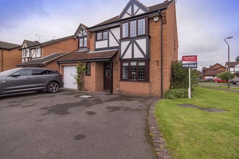 4 Bedrooms Detached House for sale in SWALLOW CLOSE, MICKLEOVER