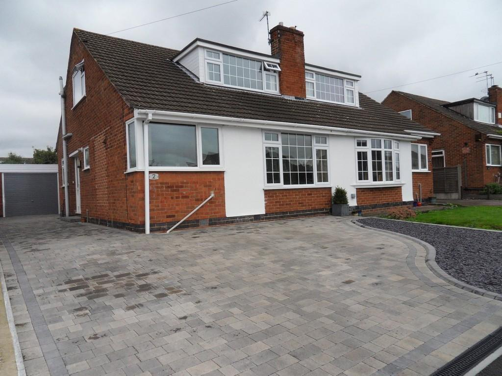 4 Bedrooms Semi Detached House for sale in Tiverton Road, Loughborough