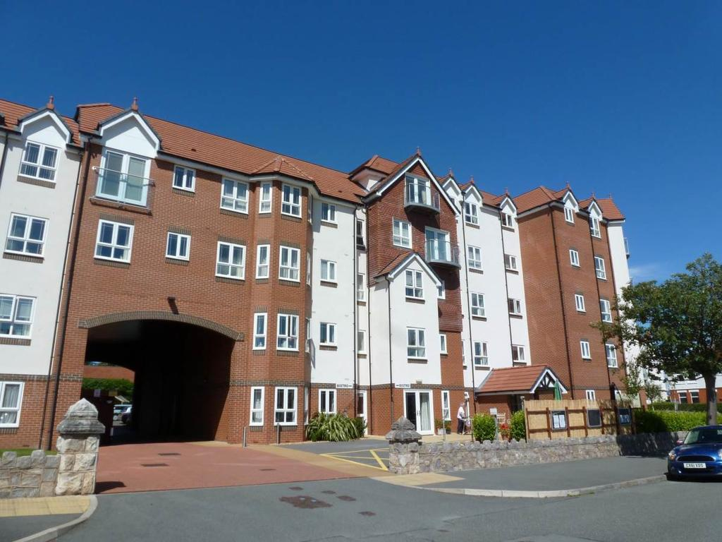 2 Bedrooms Flat for sale in 26 Adlington House Abbey Road, Rhos on Sea, LL28 4PU