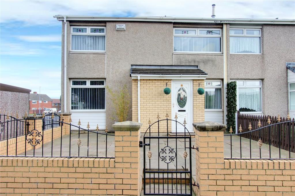 2 Bedrooms End Of Terrace House for sale in Sedgebrook Gardens, Netherfields