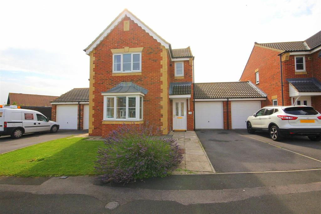 3 Bedrooms Link Detached House for sale in Sedgewick Close, Hartlepool