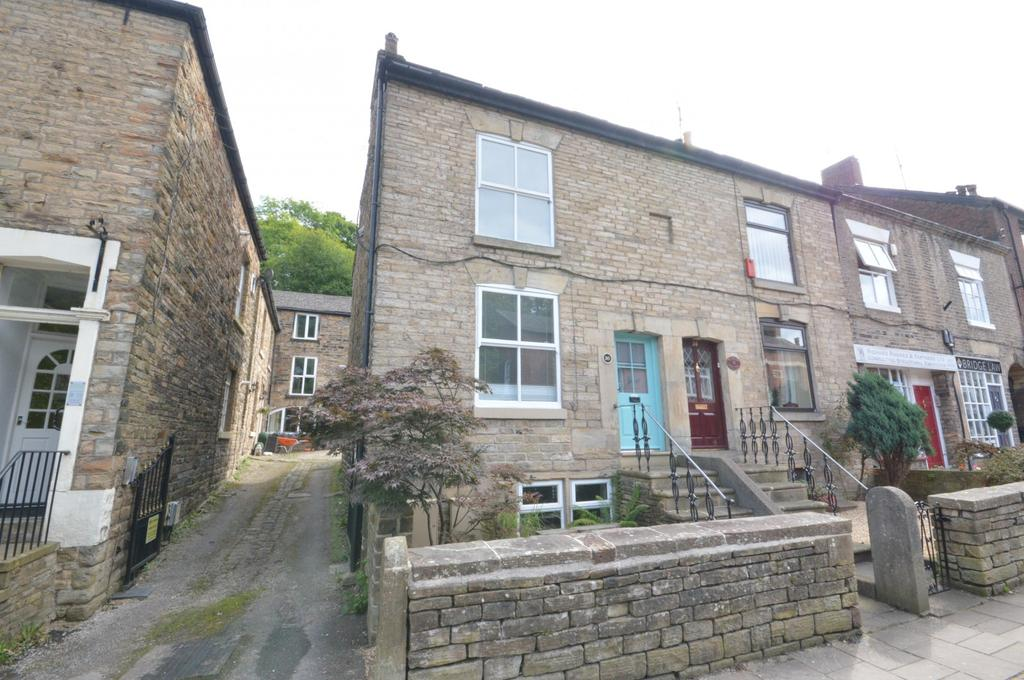 2 Bedrooms End Of Terrace House for sale in Town Street, Marple Bridge
