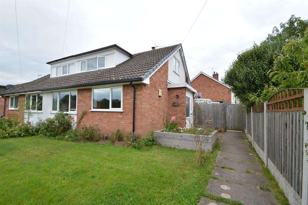 3 Bedrooms Semi Detached House for sale in Freshfields, 1a Poolside, Bayston Hill, Shrewsbury, SY3 0JW