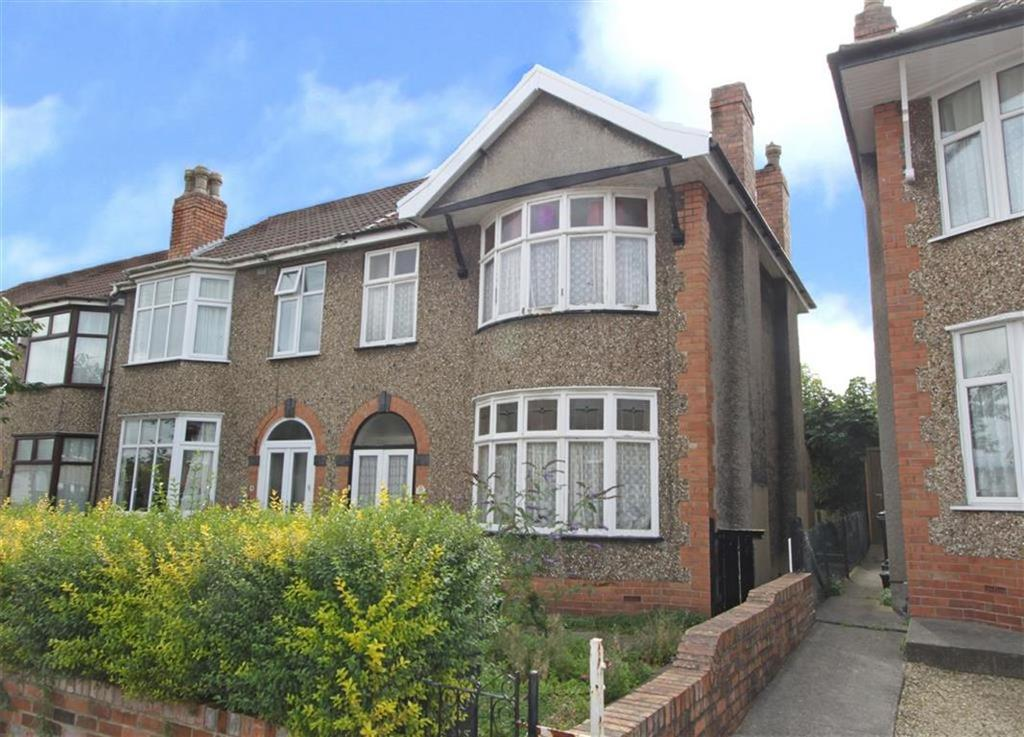 3 Bedrooms End Of Terrace House for sale in Clovelly Road, St George, Bristol