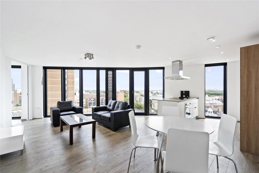 2 Bedrooms Flat for sale in Unex Tower, Station Street, London, E15