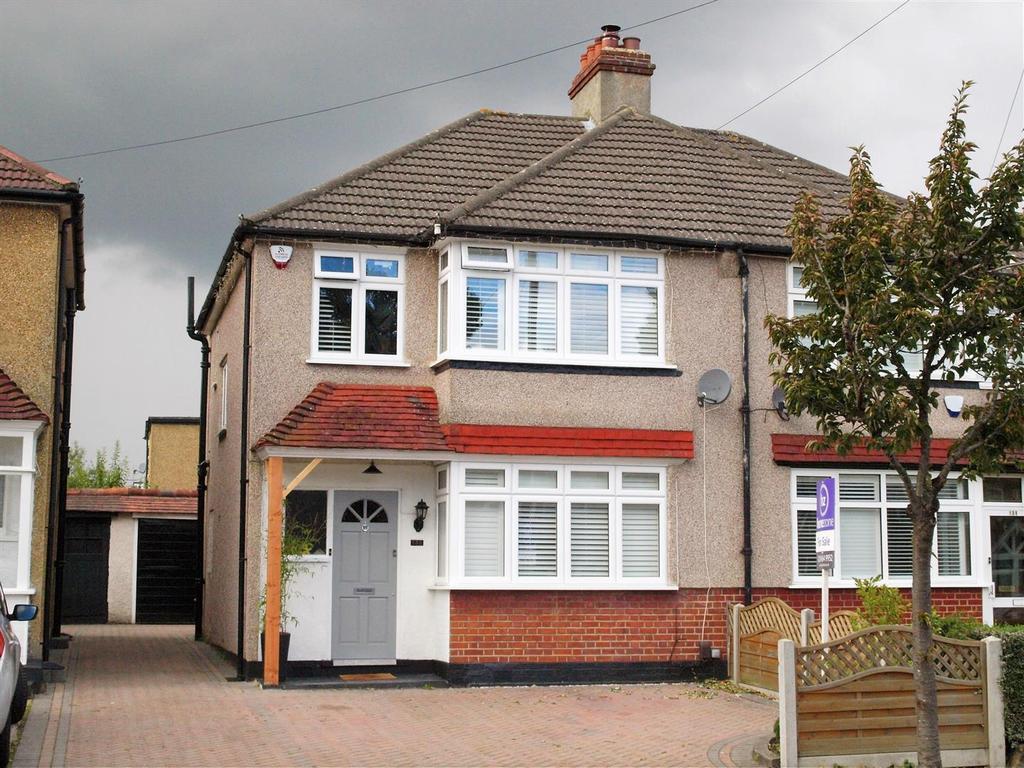 3 Bedrooms Semi Detached House for sale in Oak Avenue, Shirley, Croydon