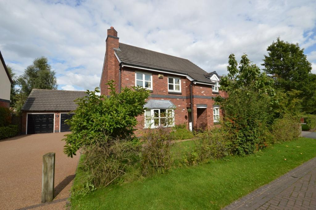 4 Bedrooms Detached House for sale in Woodbridge Close, Appleton, Warrington