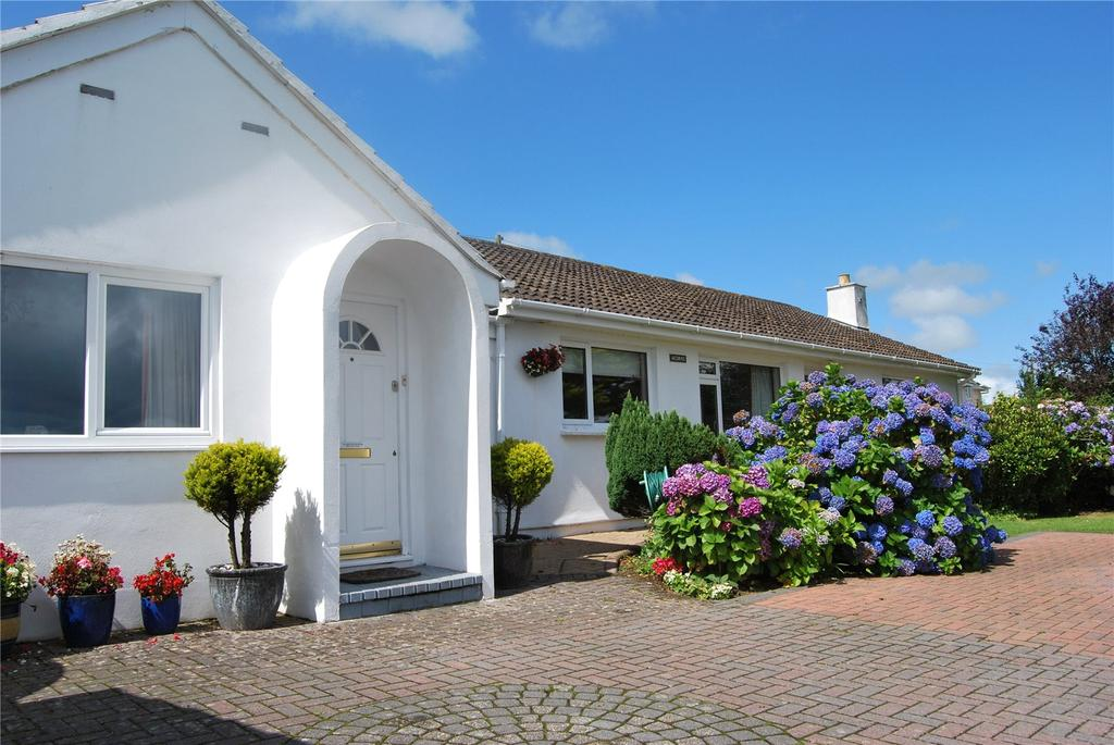 4 Bedrooms Detached Bungalow for sale in Corpascus, Mabe Burnthouse, Penryn, Cornwall