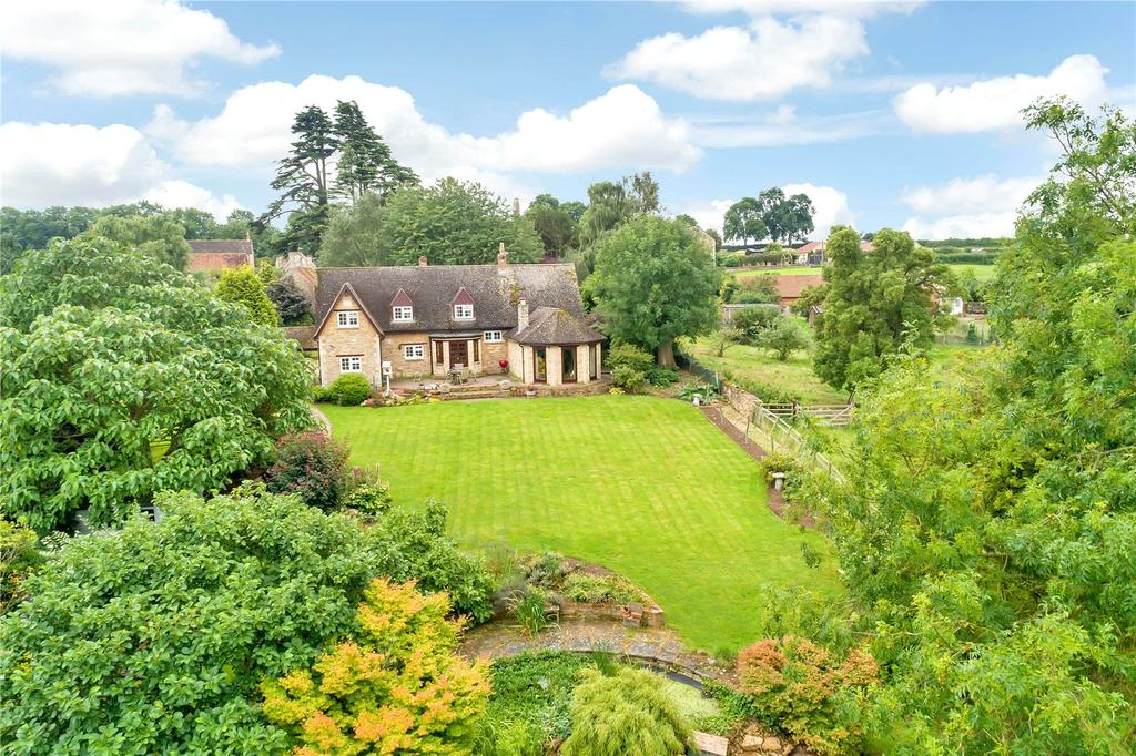 4 Bedrooms Detached House for sale in Church Lane, Pilton, Oakham, Rutland
