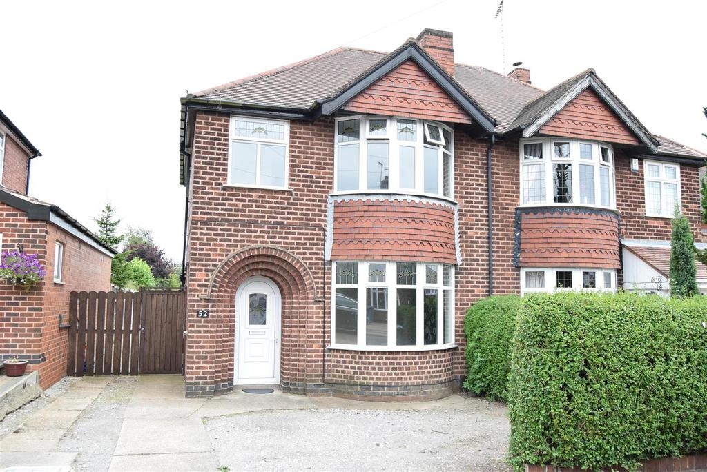 3 Bedrooms Semi Detached House for sale in Cambria Road, Mansfield