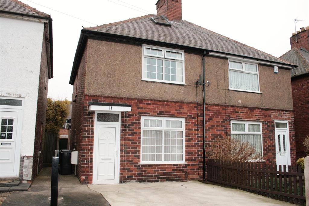 2 Bedrooms Semi Detached House for sale in Ashmore Avenue, Sutton in Ashfield