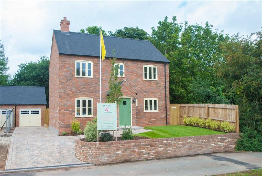 4 Bedrooms Detached House for sale in Blacksmith Lane, Whittington, Staffordshire