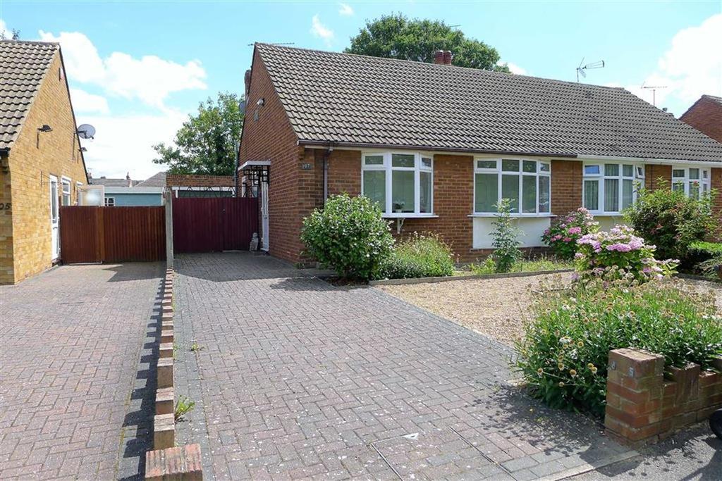 2 Bedrooms Semi Detached Bungalow for sale in Chalky Bank Road, Rainham, Kent, ME8