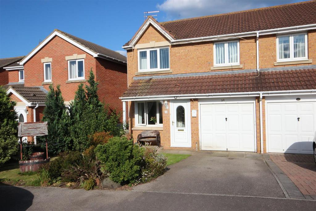 3 Bedrooms Semi Detached House for sale in Kestrel Close, Bishop Cuthbert, Hartlepool