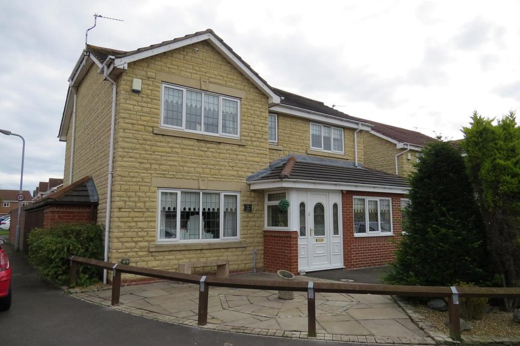 4 Bedrooms Detached House for sale in Epsom Drive, Orchid Meadows, Ashington