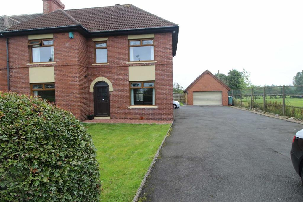 4 Bedrooms Semi Detached House for sale in Bowesville, Burnopfield, Newcastle Upon Tyne