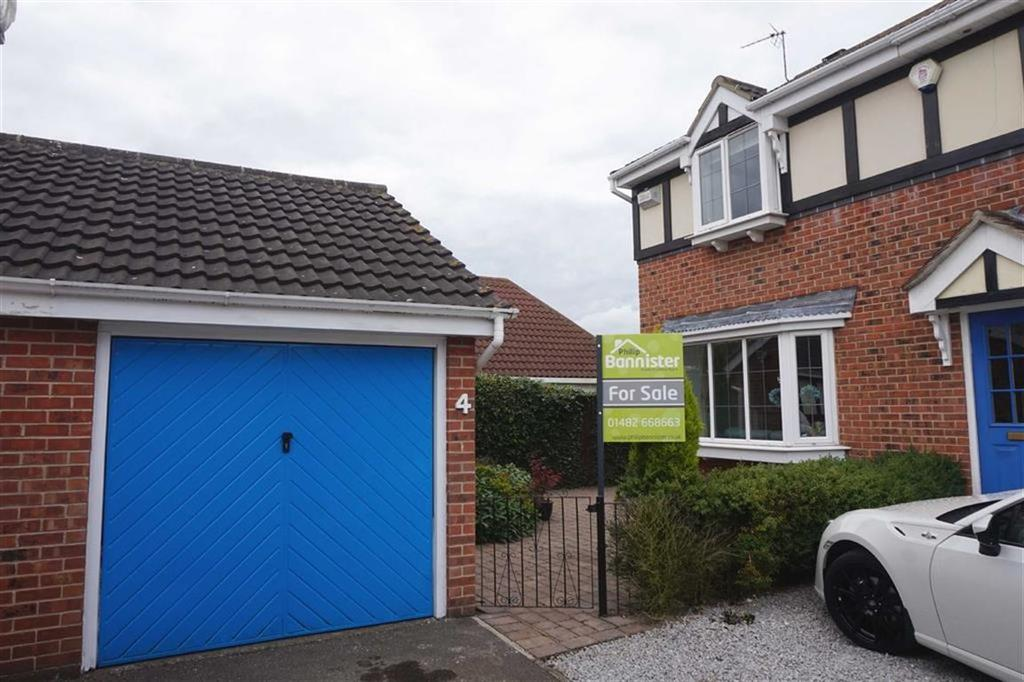 3 Bedrooms Semi Detached House for sale in Legion Close, Brough, Brough, HU15
