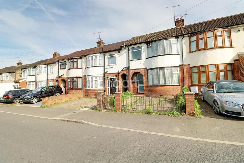 3 Bedrooms Terraced House for sale in Blundell Road, LU3