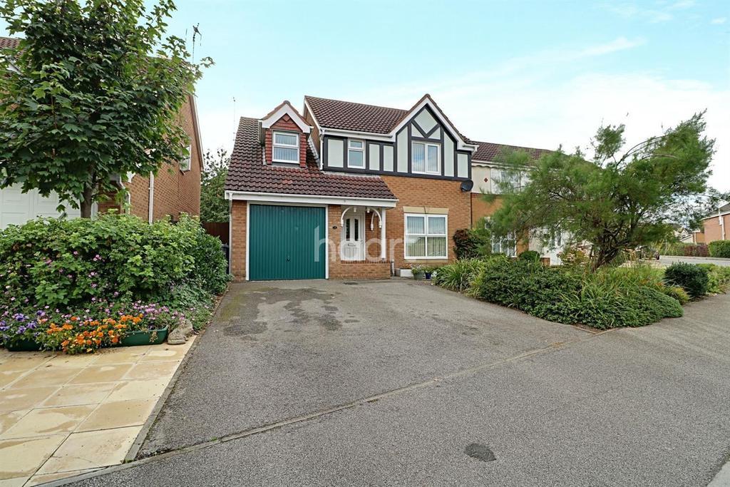 4 Bedrooms Detached House for sale in Cardyke Way, Bracebridge Heath