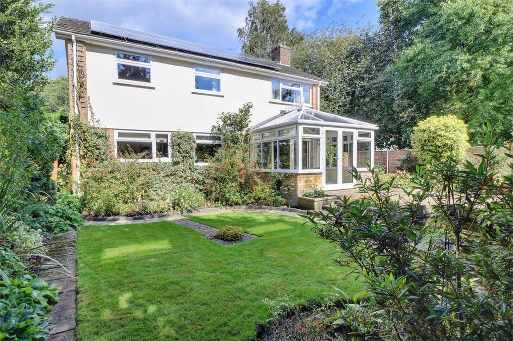 4 Bedrooms Detached House for sale in Birch Close, LISS, Hampshire