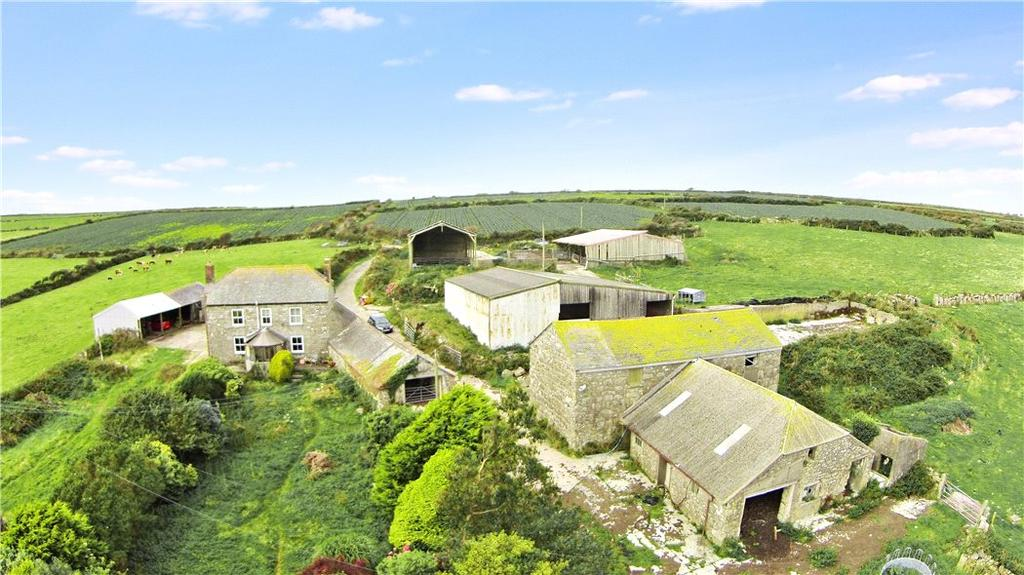 3 Bedrooms Farm House Character Property for sale in Newbridge, Penzance, Cornwall, TR20