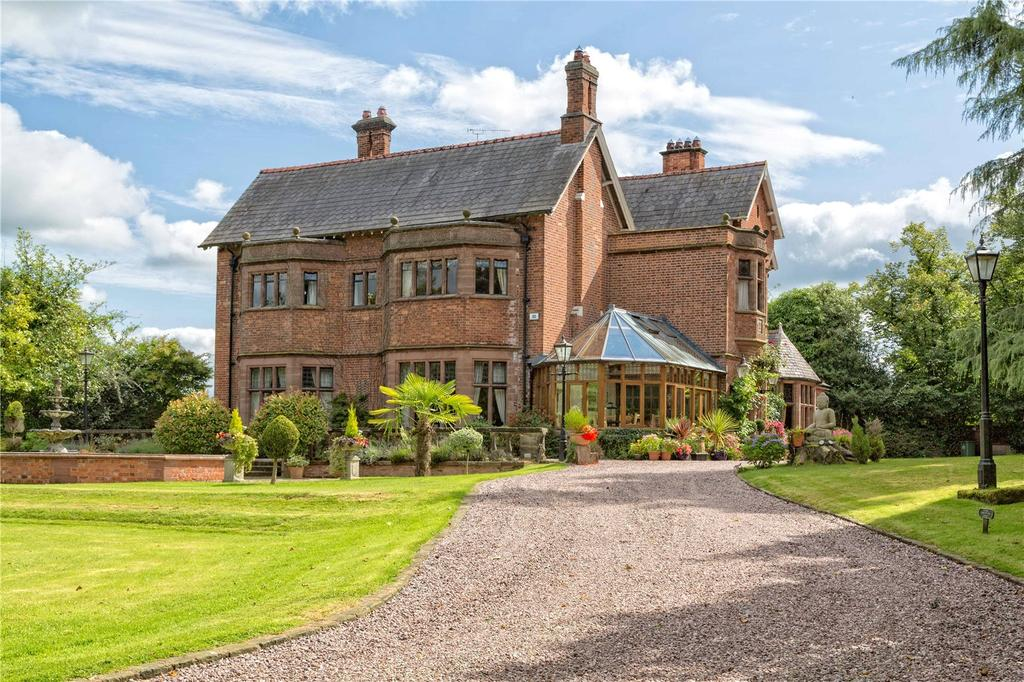 7 Bedrooms Unique Property for sale in Edgeley, Whitchurch, Shropshire, SY13