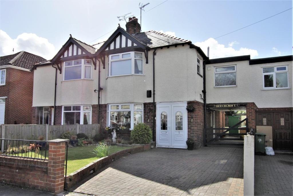 4 Bedrooms Semi Detached House for sale in Haytor Road, Wrexham, LL11 2PT