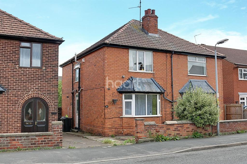 2 Bedrooms Semi Detached House for sale in Huntingtower Road, Grantham