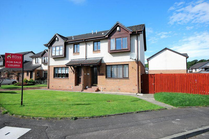 3 Bedrooms Semi-detached Villa House for sale in 118 Overmills Road, Ayr KA7 3LQ