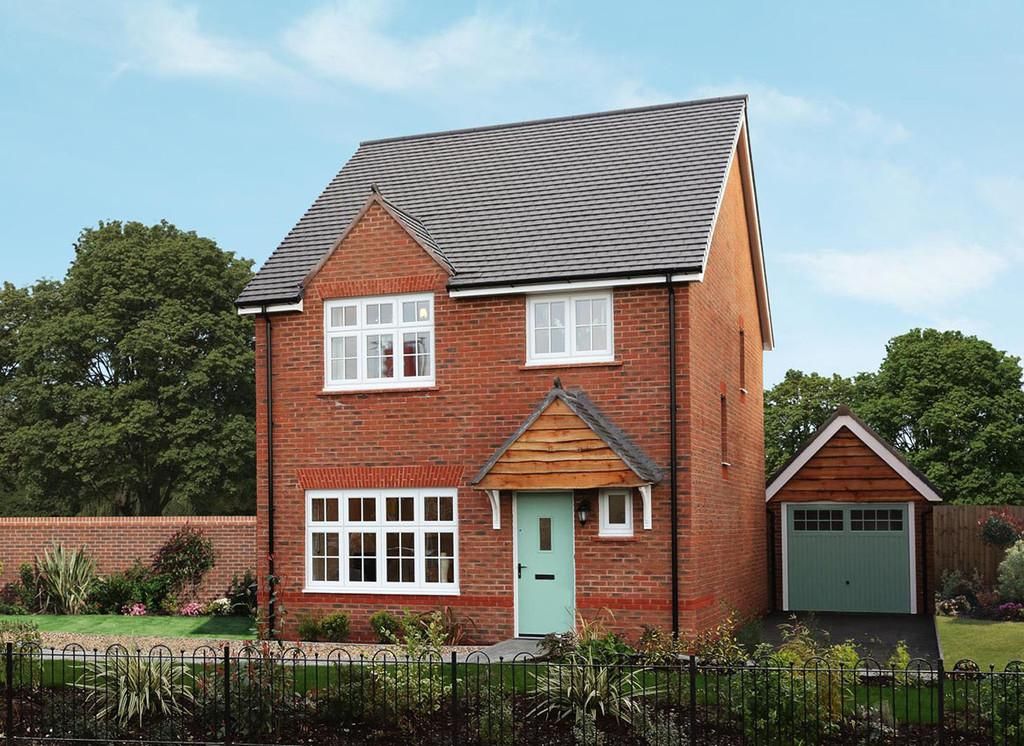 4 Bedrooms Detached House for sale in Plot 135 The Stratford, Stanbury Meadows