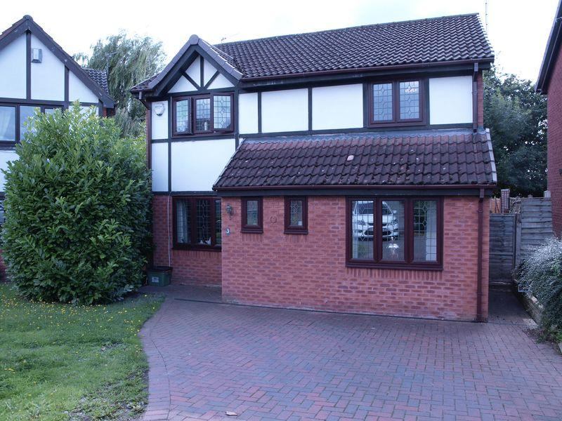 4 Bedrooms Detached House for sale in Bunbury Close, Leftwich, Northwich, CW9 8SF