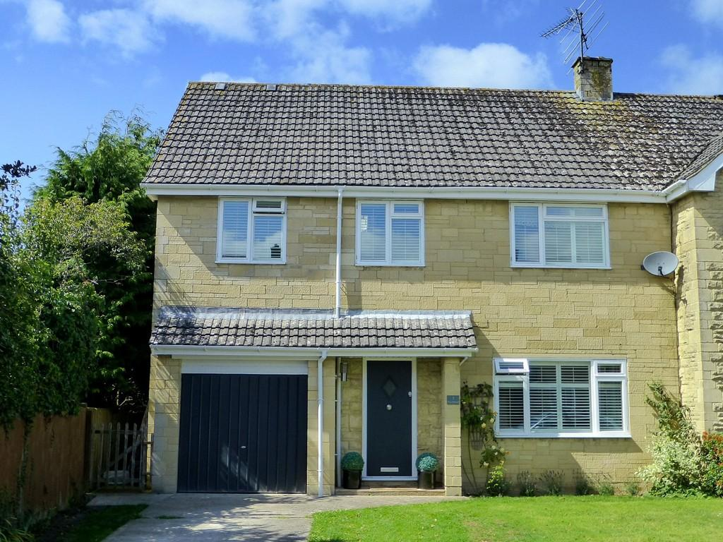 4 Bedrooms Semi Detached House for sale in The Mead, Winsley, Bradford on Avon