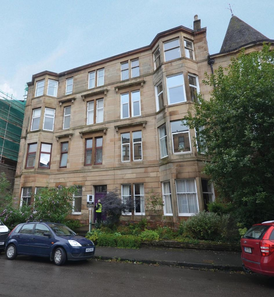 3 Bedrooms Flat for sale in Wilton Street, Flat 0/1, North Kelvinside, Glasgow, G20 6RP