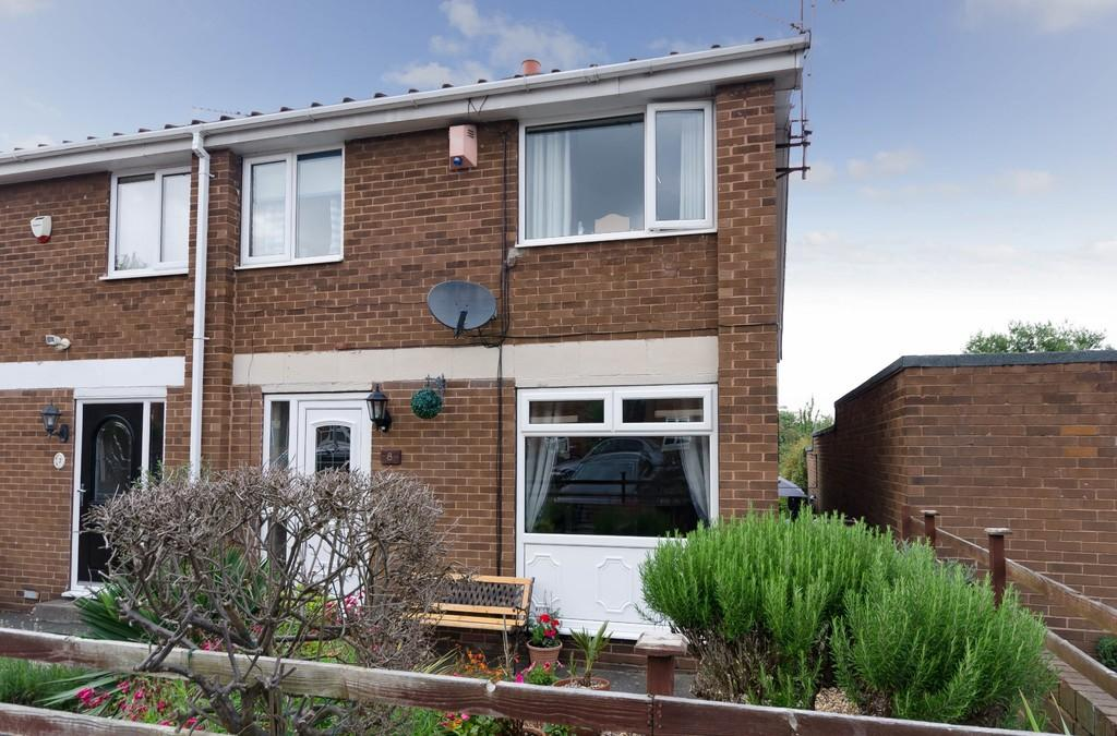 3 Bedrooms Semi Detached House for sale in Coltsfoot Close, Pontefract