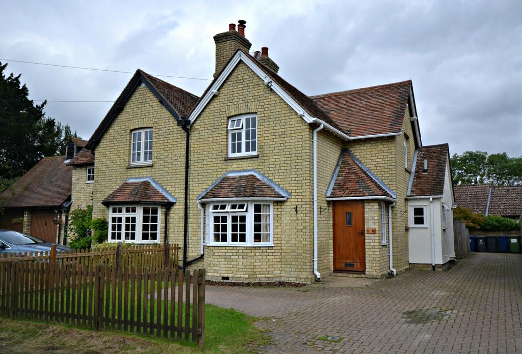 3 Bedrooms Semi Detached House for sale in Chishill Road, Heydon