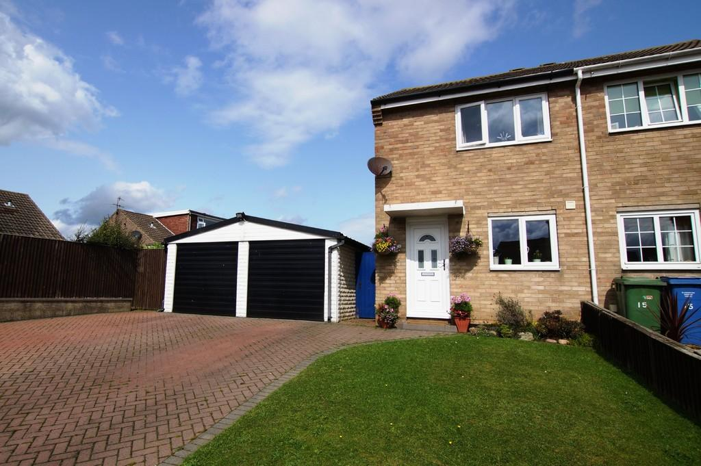 2 Bedrooms Semi Detached House for sale in Southwold Crescent, Eastfield