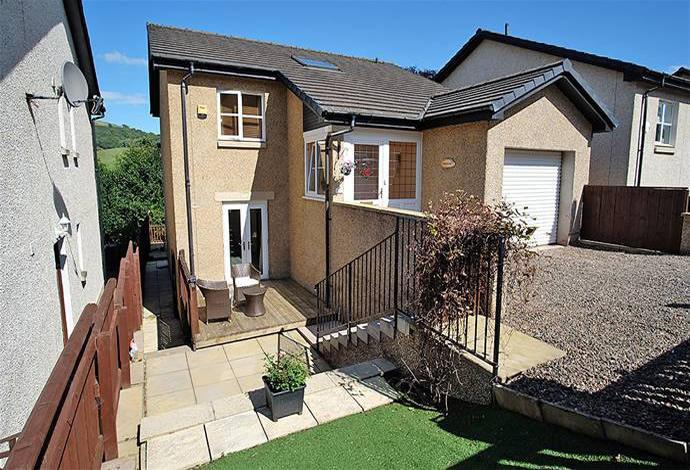 3 Bedrooms Detached House for sale in 16 Annfield Gardens, Galashiels, TD1 3DE