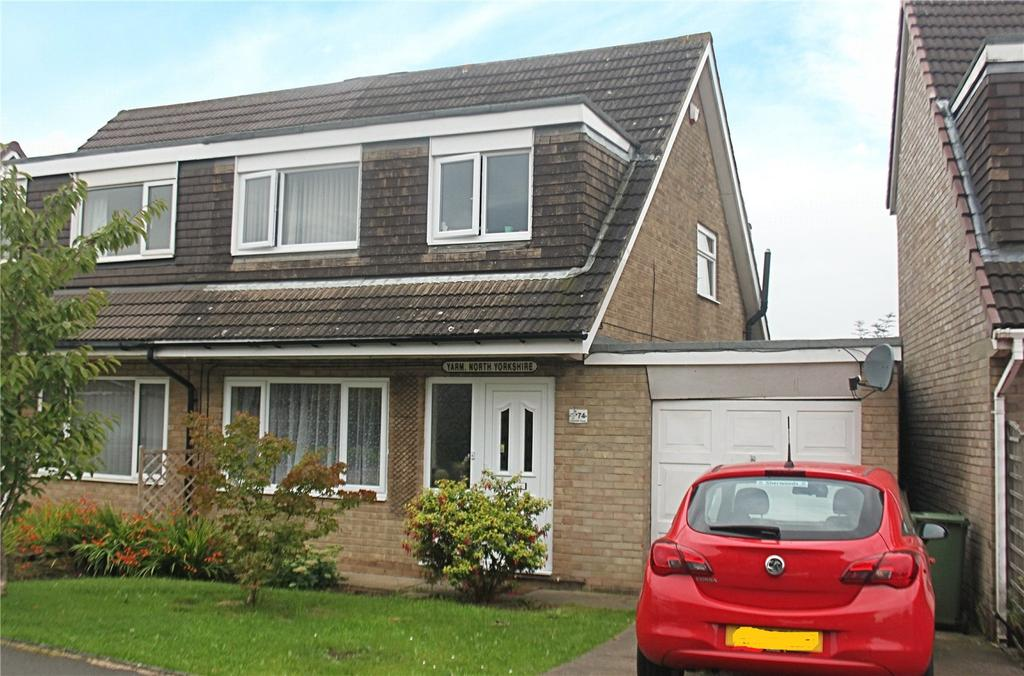 3 Bedrooms Semi Detached House for sale in Glaisdale Road, Yarm