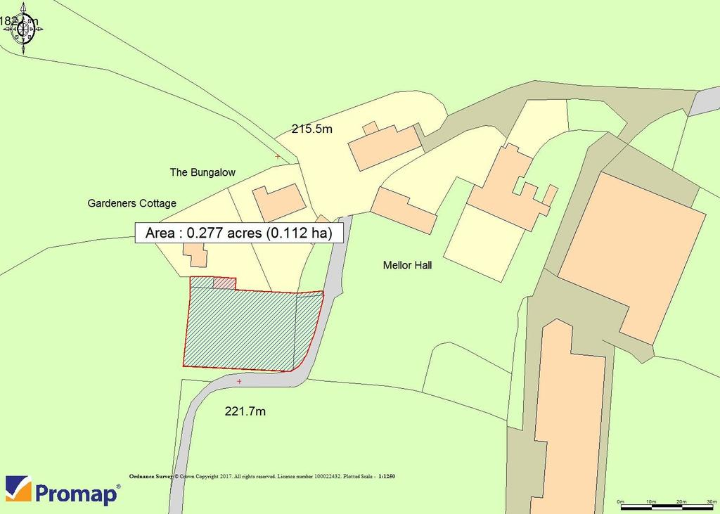 Plot Commercial for sale in Church Road, Mellor