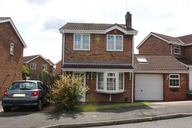 3 Bedrooms Detached House for sale in Goldfinch Close, Mansfield, NG18