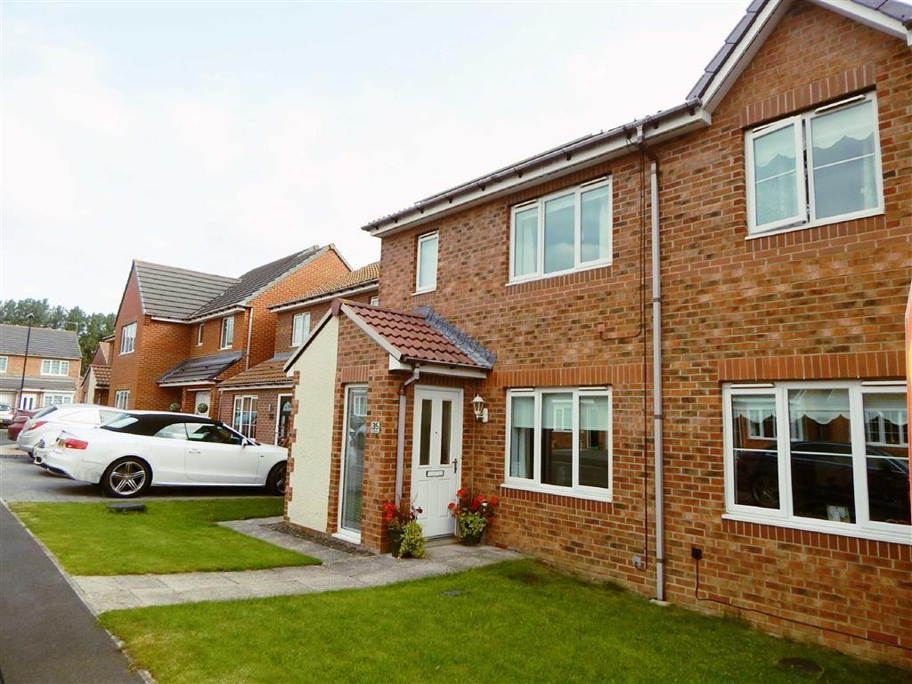 3 Bedrooms Semi Detached House for sale in Coquet Gardens, Hadrian Mews, Wallsend, NE28
