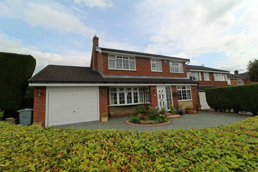 4 Bedrooms Detached House for sale in POYNTON ( SIDDINGTON ROAD )