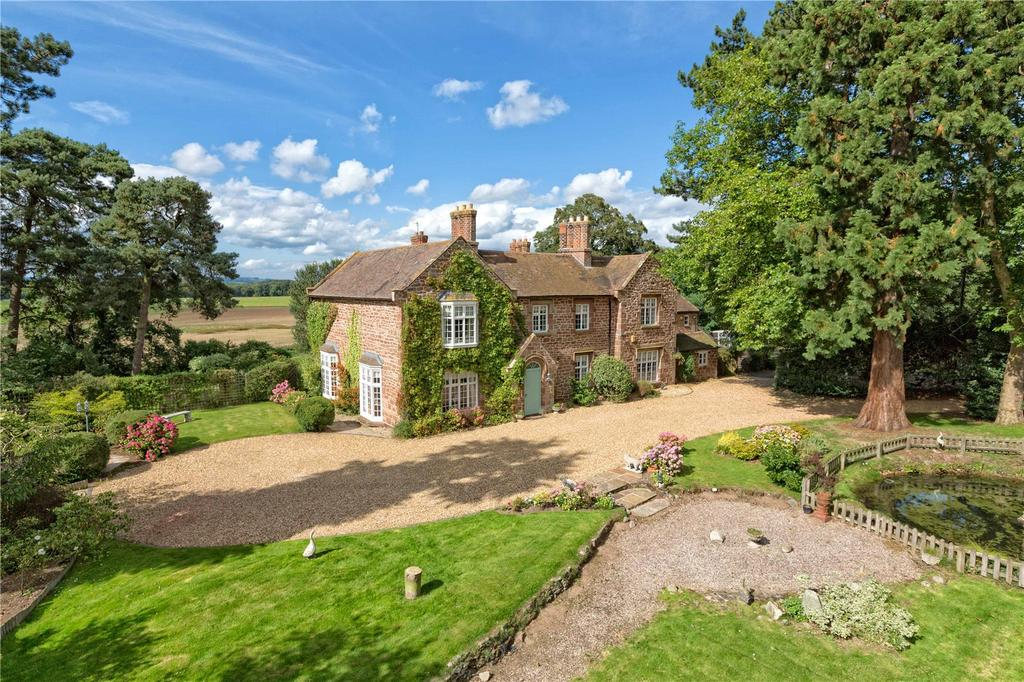 4 Bedrooms Detached House for sale in Great Bolas, Shropshire